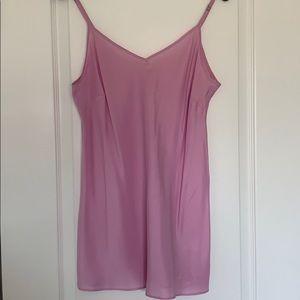JCrew Pink Silk Cami! Size L